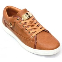 Stylish Men's Faux Leather Converse FFS208