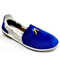 Stylish Gents Velvet Color Loafer FFS235- Royal Blue