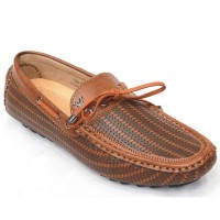 Men's Faux Lather Loafer FFS231 - Brown