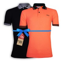 LAVELUX Premium Solid Men's Polo SUMMER COMBO OFFER