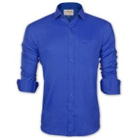 LAVELUX Premium Classic Fit Solid Cotton Formal Shirt LMS457