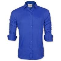 LAVELUX Premium Classic Fit Solid Cotton Formal Shirt LMS457