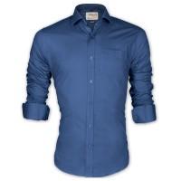 LAVELUX Premium Classic Fit Solid Cotton Formal Shirt LMS455