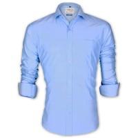LAVELUX Premium Classic Fit Solid Cotton Formal Shirt LMS456
