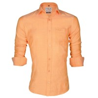 LAVELUX Premium Classic Fit Solid Cotton Formal Shirt LMS454