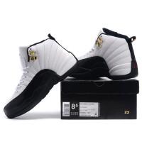 Black And White Air Jordan Basketball Keds for Men