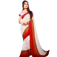 Pohela Boishakh Rachna Georgette Saree Collection RA101