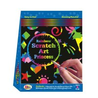 Ekta Rainbow Scratch Art Party Pack