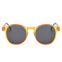 Vintage Orange Circle UV400 Trending Sunglasses RB704