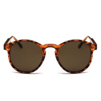 Vintage Leopard Circle UV400 Trending Sunglasses RB707