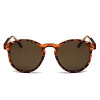 Vintage Leopard Circle UV400 Trending Sunglasses RB707