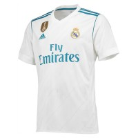 Real Madrid Half Sleeve Home Jersey 2017-18