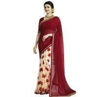 Pohela Boishakh Dupion Silk Saree VF101