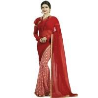 Pohela Boishakh Dupion Silk Saree VF102