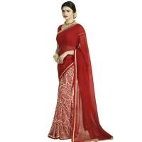 Pohela Boishakh Dupion Silk Saree VF104