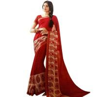 Pohela Boishakh Gorgeous Faux Georgette SareeVF109