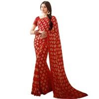 Pohela Boishakh Gorgeous Faux Georgette SareeVF110