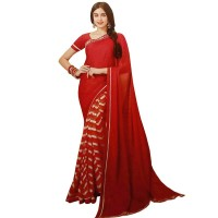 Pohela Boishakh Gorgeous Faux Georgette Saree VF112