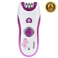 Kemei KM 3066 Rechargeable 6in1 Multifunctional Epilator