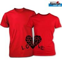 SiGNATURE Valentine Couple T-Shirt SG7123