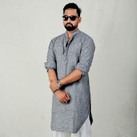 Simple Lifestyle Festive Collection Premium Kabli Panjabi SK725