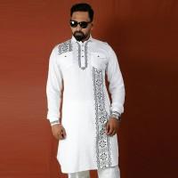 Simple Lifestyle Festive Collection Premium Kabli Panjabi SK726