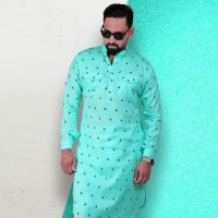 Simple Lifestyle Festive Collection Premium Kabli Panjabi SK728