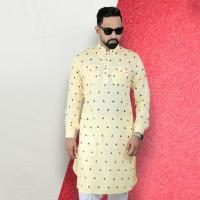 Simple Lifestyle Festive Collection Premium Kabli Panjabi SK729