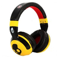 Skull Candy Hash Paul Frank  Series Replica Headphones - Yellow