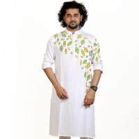 SIMPLE OUTFITS Festive Collection Cotton Print Panjabi SP2170