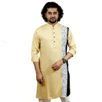 SIMPLE OUTFITS Festive Collection Cotton Print Panjabi SP2178