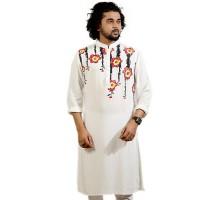 SIMPLE OUTFITS Festive Collection Cotton Print Panjabi SP2182