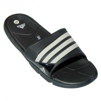 Stylish Adidas Slipper EP203 Black With White