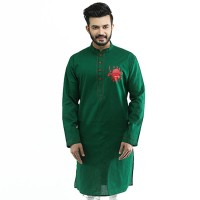 Bijoy Dibosh Special Men Cotton Punjabi  SW399
