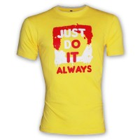 JUST DO IT -  Ronud Neck T Shirt