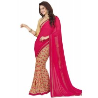 Vinay Star Walk Chiffon Georgette Saree With HTE Blouse  - SW48