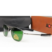 AO Pilot Diamond Hard Sunglasses Gun Metal