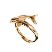 Dolphin Adjustable Finger Ring