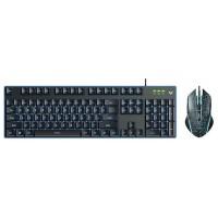 Rapoo V100S Backlit Gaming Keyboard & Optical Gaming Mouse Combo