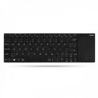 Rapoo E2710 Wireless Touchpad Keyboard Black