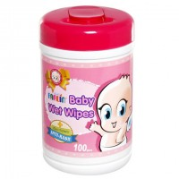 Farlin Baby Wet Wipes - Anti-Rash Box, 100 Piece(S)/Pack