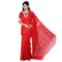 Eid Exclusive Muslin Silk Jamdani Saree TS4843