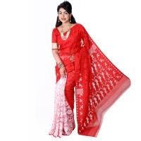 Eid Exclusive Muslin Silk Jamdani Saree MS144