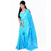 Eid Exclusive Muslin Silk Jamdani Saree TS4845