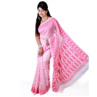Eid Exclusive Muslin Silk Jamdani Saree TS4853