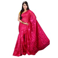 Eid Exclusive Muslin Silk Jamdani Saree TS4855