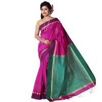 Eid Exclusive Half Silk Saree TS4962