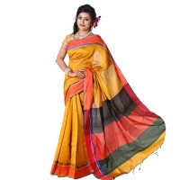 Eid Exclusive Half Silk Saree TS4963