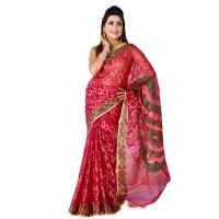 Eid Exclusive Silk Jamdani Saree TS4904