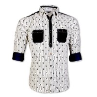 Eid Exclusive & Stylish Pure Cotton Printed Casual Shirt LX089